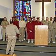 Choir at graduation