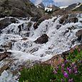 River from Isabel Gracier