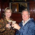 Our first, but not last, Guinnes in Ireland