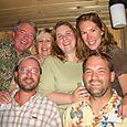 My Family in a sauna in Oregon