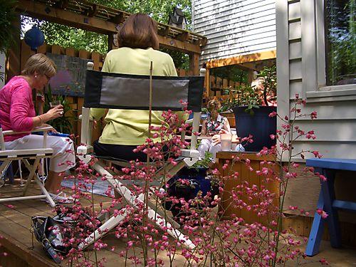 Deck near the Garden Room