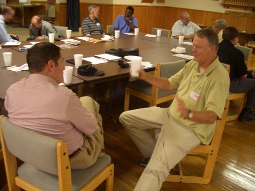 Listening and Sharing - keys to mentoring