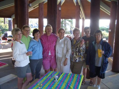 Ann, Shirley, Pat, Mary, Jane, Nancy, Sharon, and Jake
