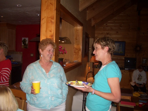 Nancy from Wyoming and Sharon from Colorado